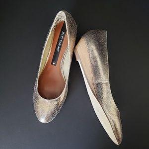 Matt Bernson Wedge Heels Ballet Slipper Size 9.5